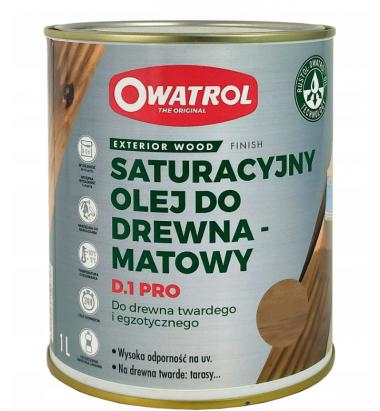 Owatrol D1 Pro - Honey Gold