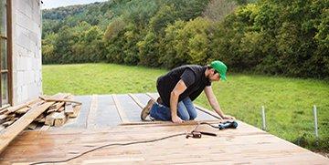 montaż taras drewniany