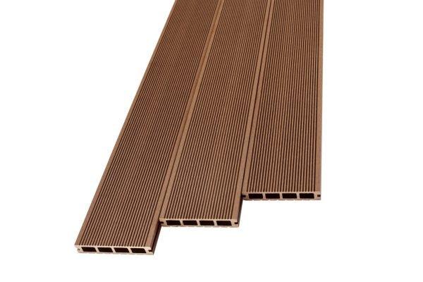 Deska tarasowa kompozytowa easyDECK 25×140 BRĄZ 4