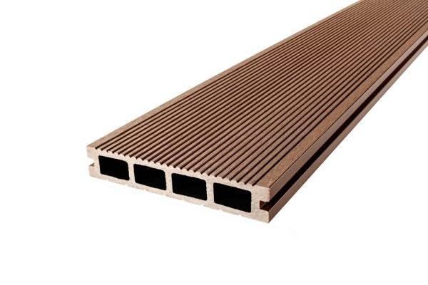 Deska tarasowa kompozytowa easyDECK 25×140 BRĄZ 7