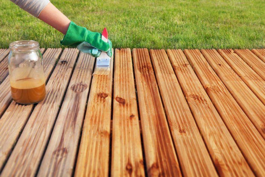 Jak zabezpieczyć taras drewniany przed zimą 2