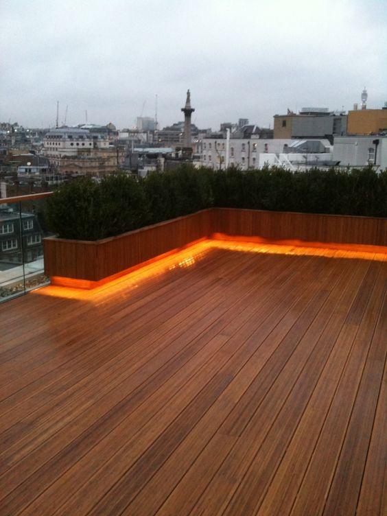 Dekoracyjne oświetlenie tarasu i balkonu 4