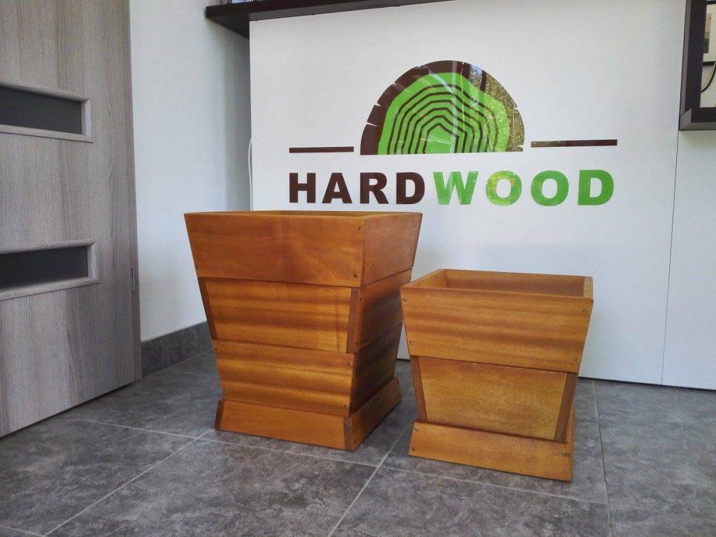 donica z drewna tatajuba