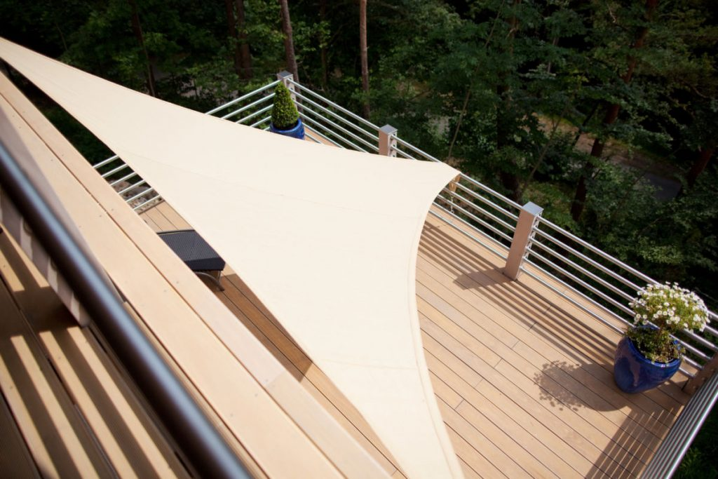 Deski na balkon - deski tarasowe drewniane 2