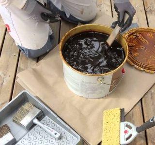 olejowanie tarasu
