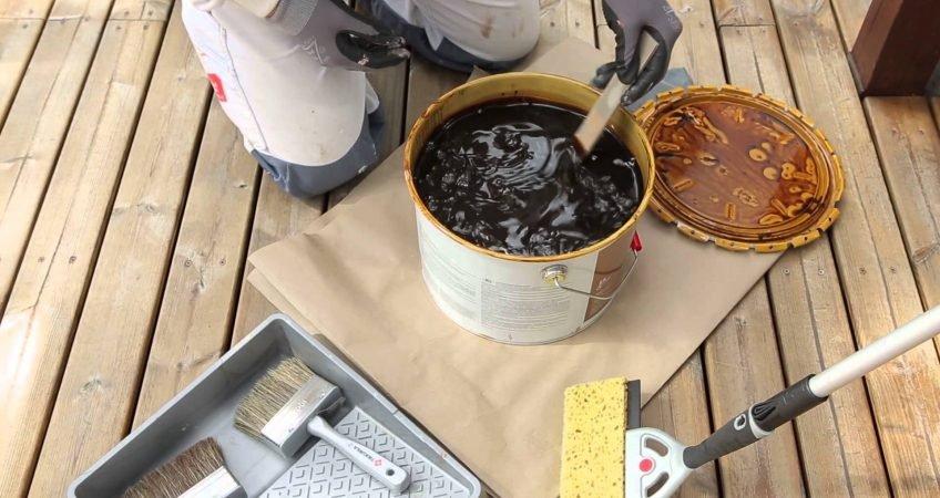 Olejowanie tarasu drewnianego - jak zabezpieczyć drewno tarasowe 1